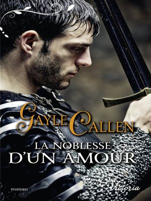 cover image of La noblesse d'un amour
