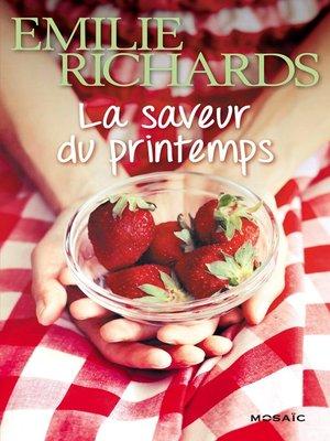cover image of La saveur du printemps