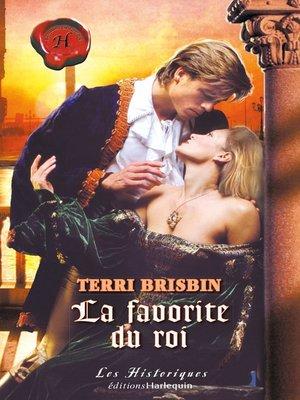 cover image of La favorite du roi