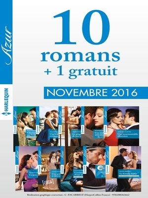 cover image of 10 romans Azur + 1 gratuit (n°3765 à 3774--Novembre 2016)