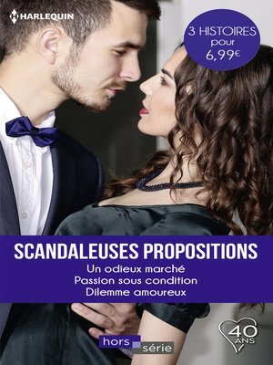 cover image of Scandaleuses propositions