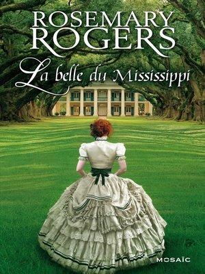 cover image of La belle du Mississippi