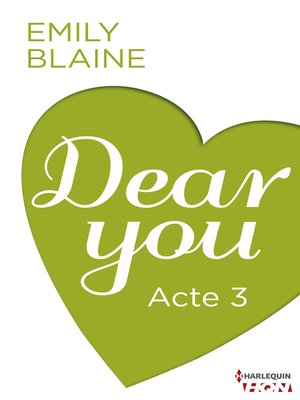 cover image of Dear You--Acte 3