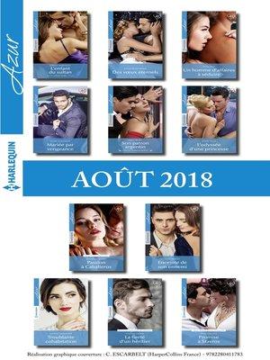 cover image of 11 romans Azur + 1 gratuit (n°3982 à 3992--Août 2018)