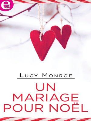 cover image of Un mariage pour Noël