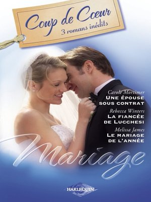cover image of Mariage (Harlequin Coup de Coeur)
