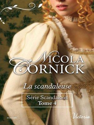 cover image of La scandaleuse