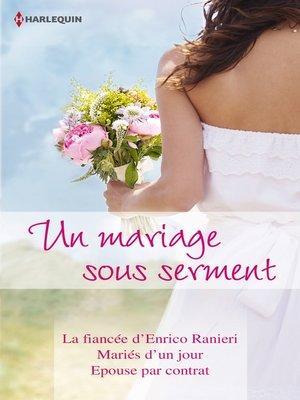 cover image of Un mariage sous serment