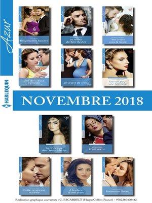 cover image of 11 romans Azur + 1 gratuit (n°4015 à 4025--Novembre 2018)