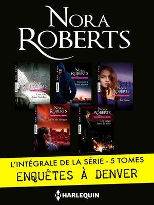 """cover image of Intégrale de la série """"Enquêtes à Denver"""""""