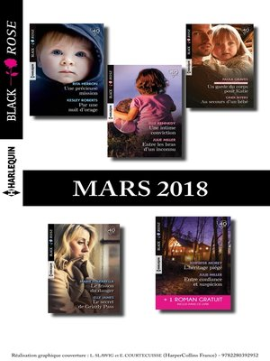 cover image of 10 romans Black Rose + 1 gratuit (n°467 à 471--Mars 2018)