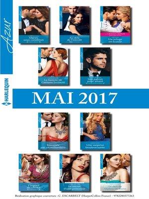 cover image of 10 romans Azur + 1 gratuit (n°3825 à 3834--Mai 2017)