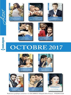 cover image of 10 romans Azur (nº3875 à 3884-Octobre 2017)