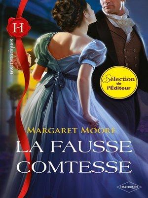 cover image of La fausse comtesse