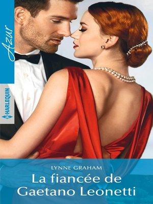 cover image of La fiancée de Gaetano Leonetti