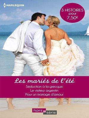 cover image of Les mariés de l'été
