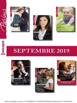 cover image of 12 romans Passions + 1 gratuit (n°815 à 820--Septembre 2019)