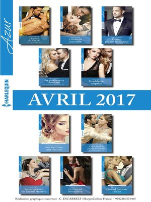 cover image of 10 romans Azur + 1 gratuit (nº3815 à 3824--Avril 2017)