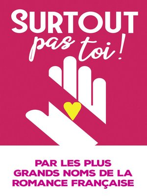 cover image of Surtout pas toi !