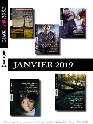 cover image of 10 romans Black Rose (n°514 à 518--Janvier 2019)