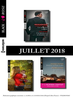 cover image of 10 romans Black Rose + 1 gratuit (nº486 à 490--Juillet 2018)