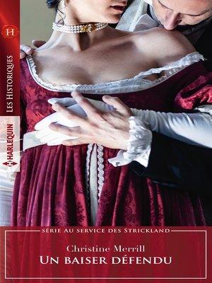 cover image of Un baiser défendu