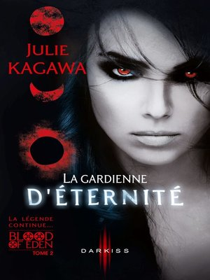 cover image of La gardienne d'éternité