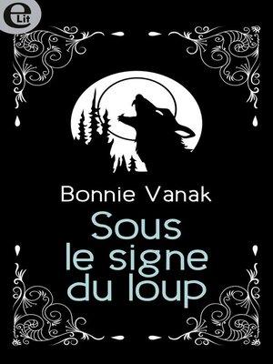 cover image of Sous le signe du loup