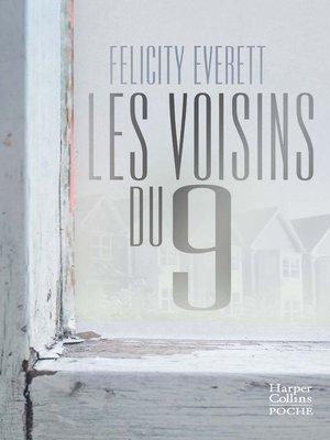 cover image of Les voisins du 9
