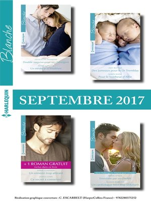 cover image of 8 romans Blanche + 1 gratuit (n°1330 à 1333--Septembre 2017)