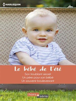 cover image of Le bébé de l'été