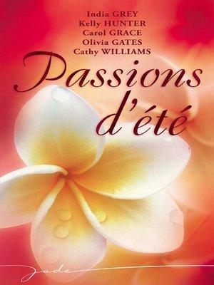 cover image of Passions d'été