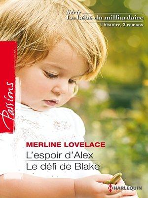 cover image of L'espoir d'Alex--Le défi de Blake