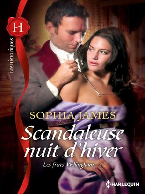 cover image of Scandaleuse nuit d'hiver