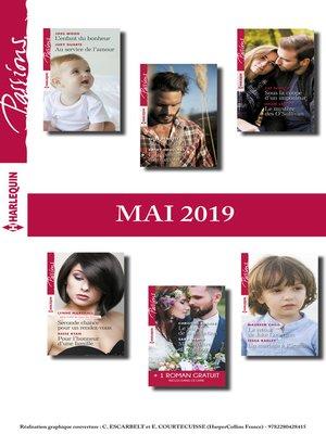 cover image of 12 romans Passions + 1 gratuit (n°791 à 796--Mai 2019)