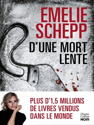 cover image of D'une mort lente