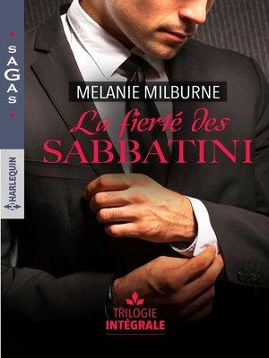 cover image of La fierté des Sabbatini