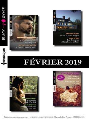 cover image of 11 romans Black Rose (n° 519 à 522--Février 2019)