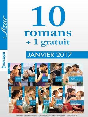 cover image of 10 romans Azur + 1 gratuit (n°3785 à 3794--Janvier 2017)