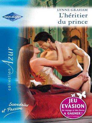 cover image of L'héritier du prince