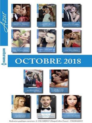 cover image of 11 romans Azur (n° 4004 à 4014--Octobre 2018)