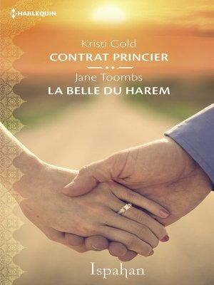 cover image of Contrat princier--La belle du harem