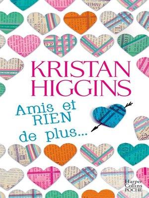 cover image of Amis et RIEN de plus