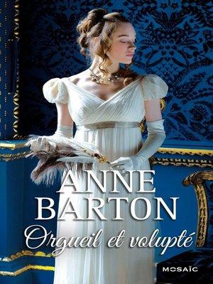 cover image of Orgueil et volupté