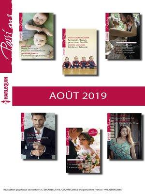 cover image of 12 romans Passions (n°809 à 814--Août 2019)
