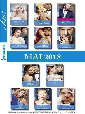 cover image of 11 romans Azur + 1 gratuit (n°3949 à 3959--Mai 2018)