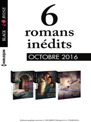cover image of 6 romans Black Rose (n°403 à 405--Octobre 2016)