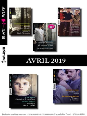 cover image of 11 romans Black Rose (n°525 à 531--Avril 2019)