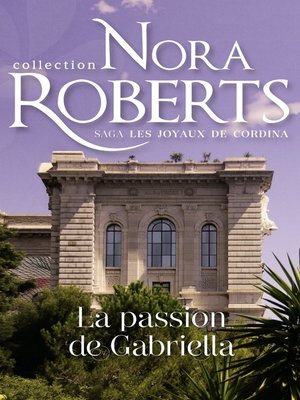 cover image of La passion de Gabriella