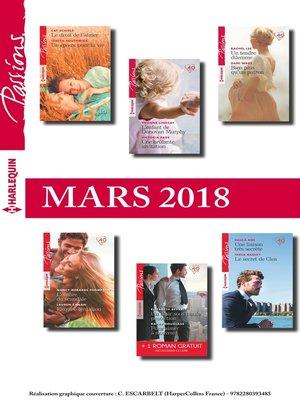 cover image of 12 romans Passions + 1 gratuit (n°707 à 712--Mars 2018)